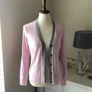 \Brooks Brothers\• Pink Cardigan